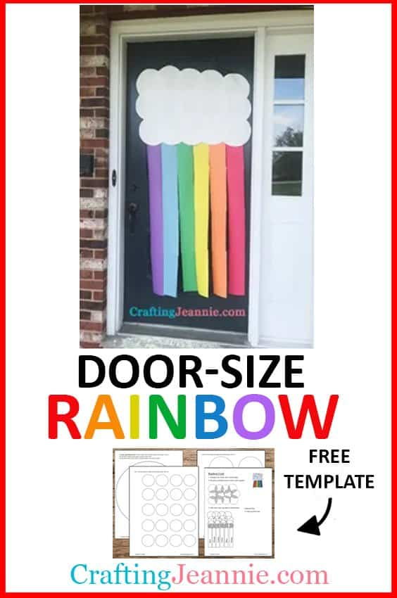 Paper Rainbow picture for pinterest Crafting Jeannie