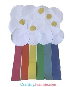 easy paper rainbow craft