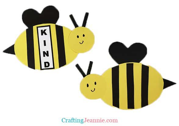 Bee Craft by Crafting Jeannie