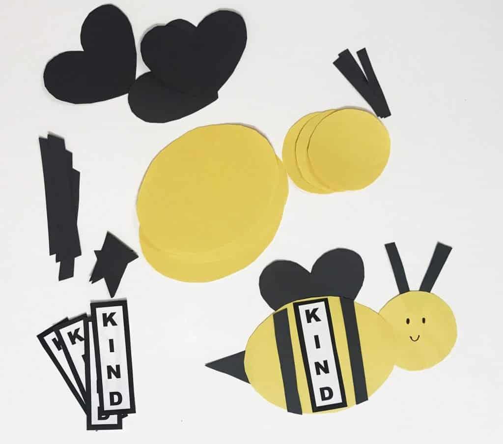 bee kind craft pieces