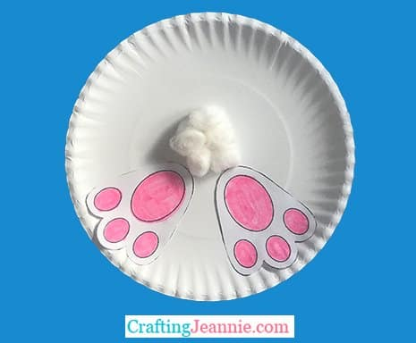 Toddler Easter craft from Crafting Jeannie