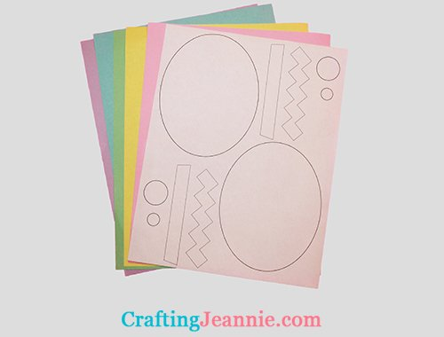 egg craft printable template