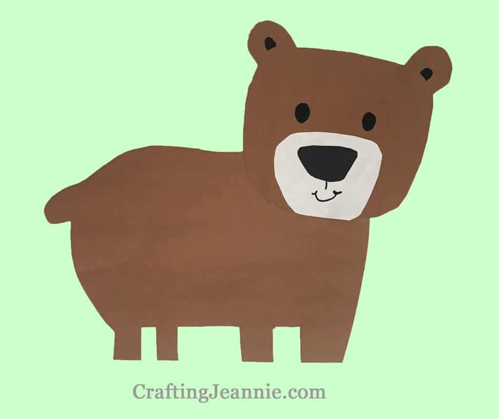 bear craft make 20 in about 10 minutes