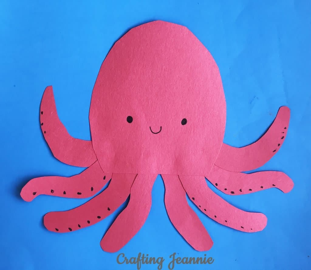 octopus craft make 20 in about 10 minutes
