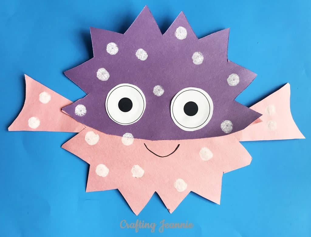 pufferfish craft make 20 in about 10 minutes