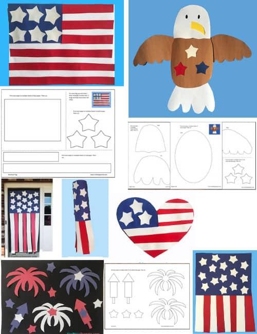 USA Craft Templates