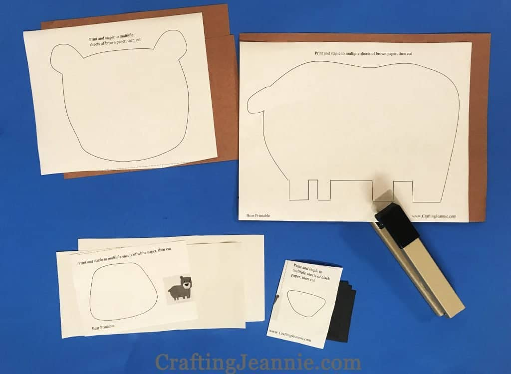 elephant craft printable ready for cutting