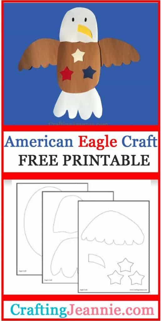 eagle craft image for Pinterest