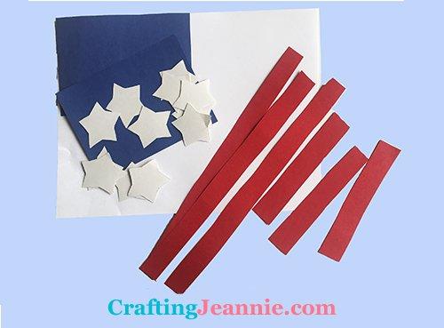 flag craft pieces