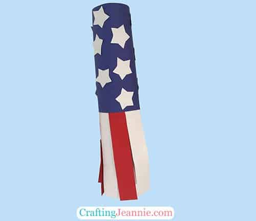 Flag Windsock Craft by Crafting Jeannie