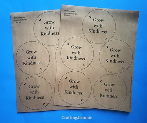 grow with kindness flower pieces