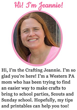 welcome from Crafting Jeannie