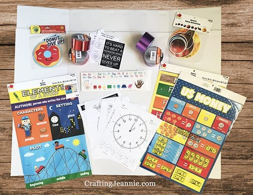 supplies to make virtual learning board