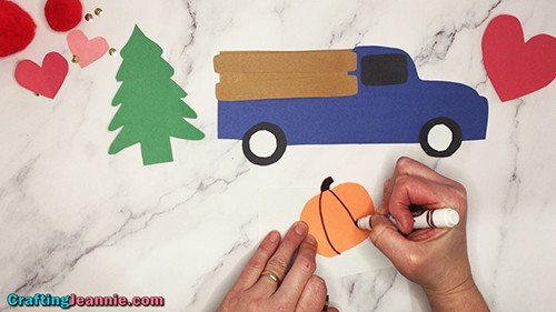 fall kids craft by Crafting Jeannie