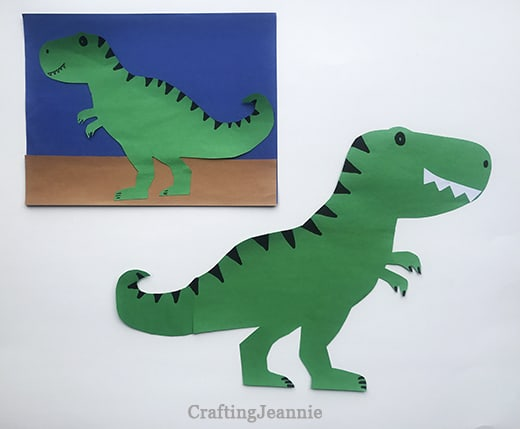 small trex or large trex craft craftingJeannie
