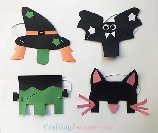 easy printable Halloween masks