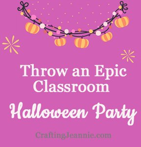 how to throw an awesome classroom Halloween party