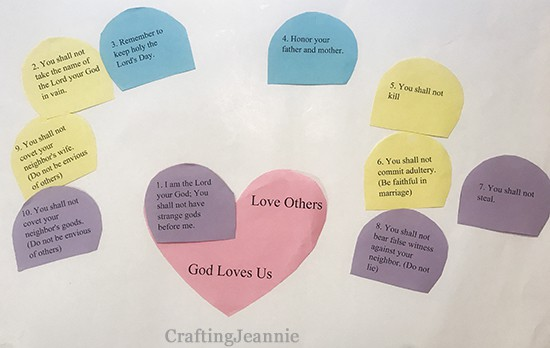 categorizing the first commandment Crafting Jeannie
