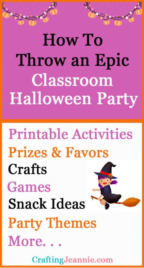 How to Throw an Epic Classroom Halloween Party for Pinterest