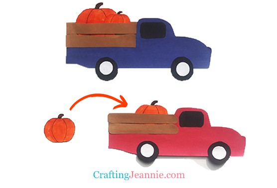 fall craft for kids by Crafting Jeannie