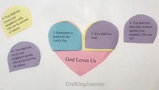 categorizing the seventh commandment Crafting Jeannie