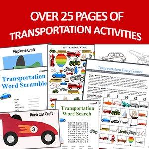 Transportation Activity Packet