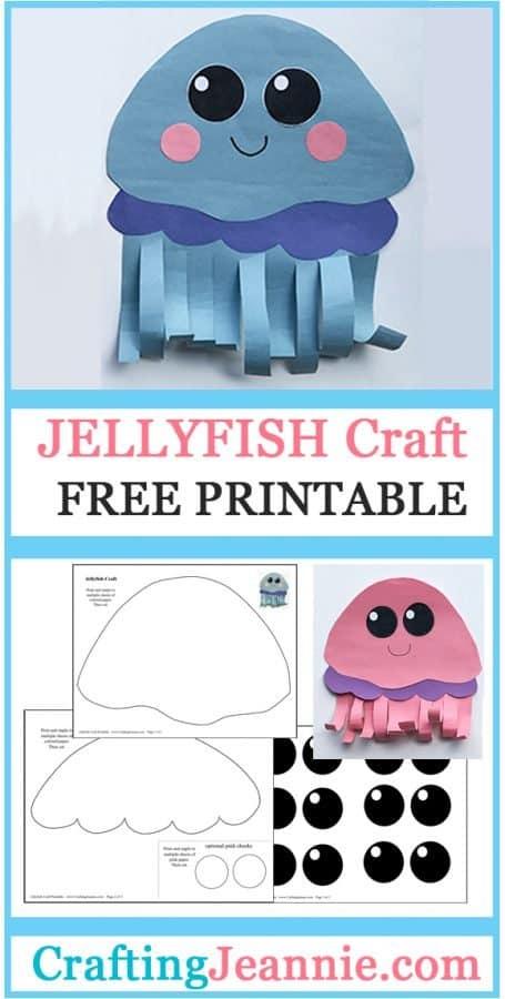 jellyfish craft for pinterest