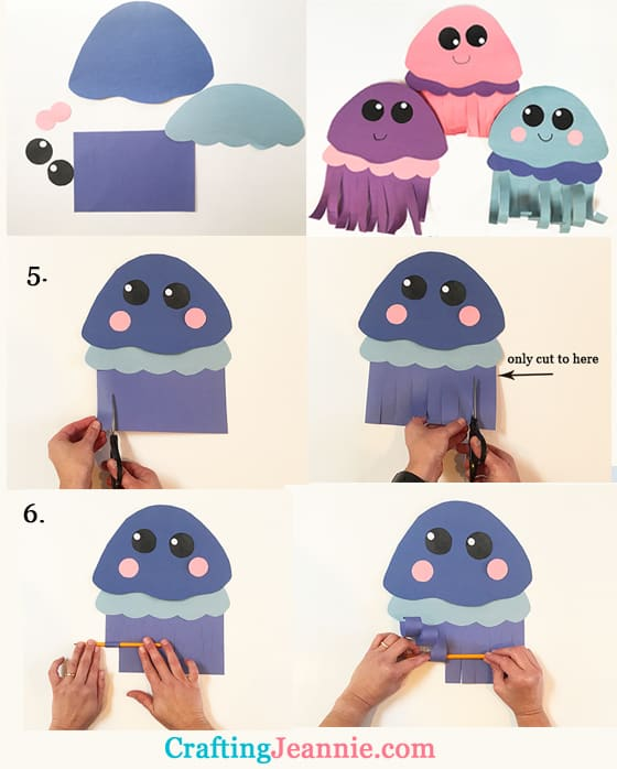 jellyfish step by step instructions