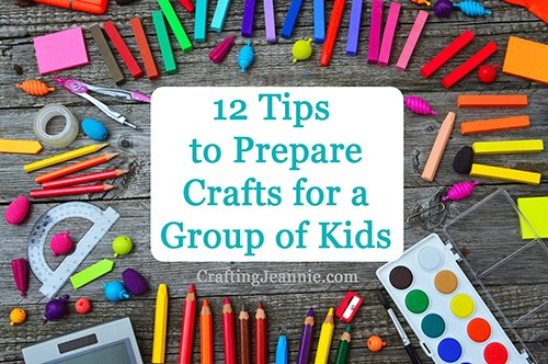 tips for crafting with kids