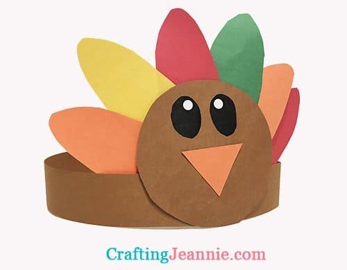 Paper Turkey Hat Craft