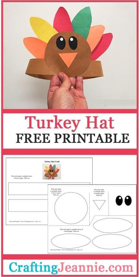 Turkey headband advertisement for pinterest