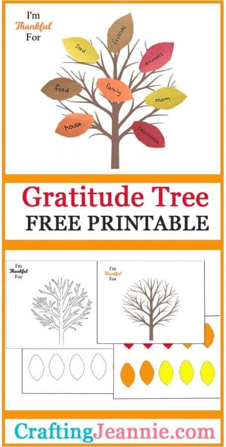 grateful tree advertisement for pinterest