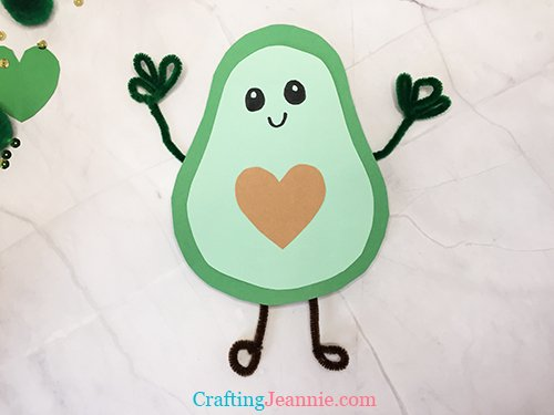 Avocado Craft by Crafting Jeannie
