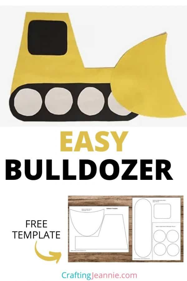 bulldozer craft picture for pinterest Crafting Jeannie