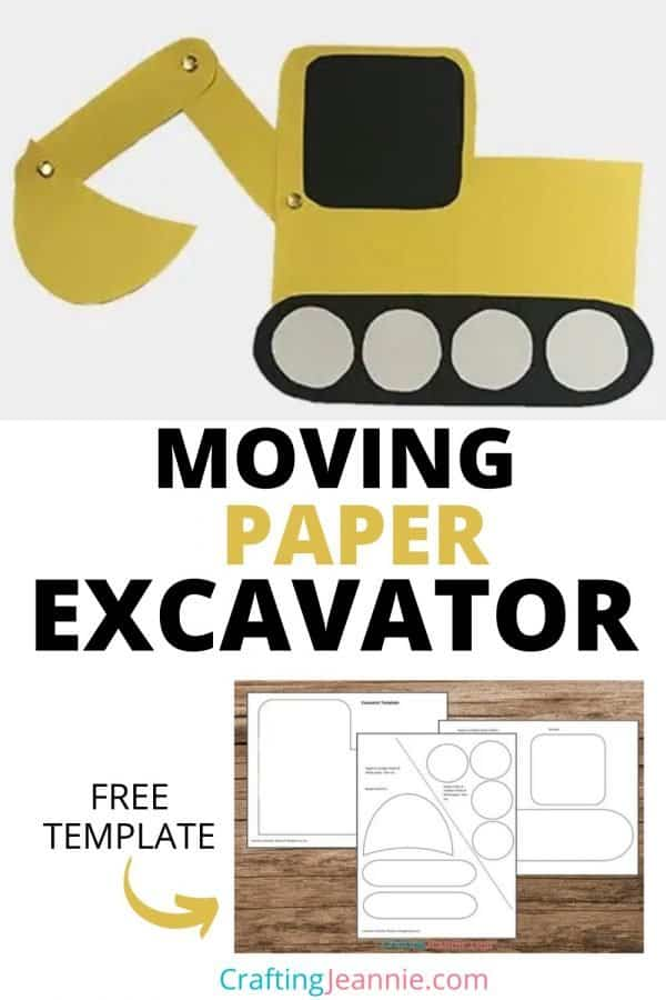 excavator craft picture for pinterest Crafting Jeannie