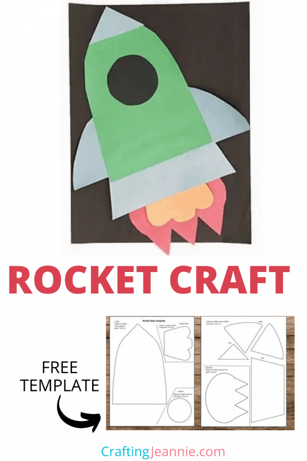 rocket ship craft picture for pinterest Crafting Jeannie