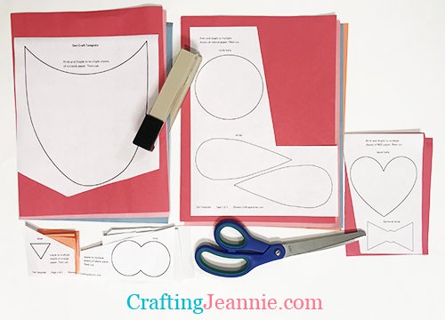 preschool owl craft template ready to cut