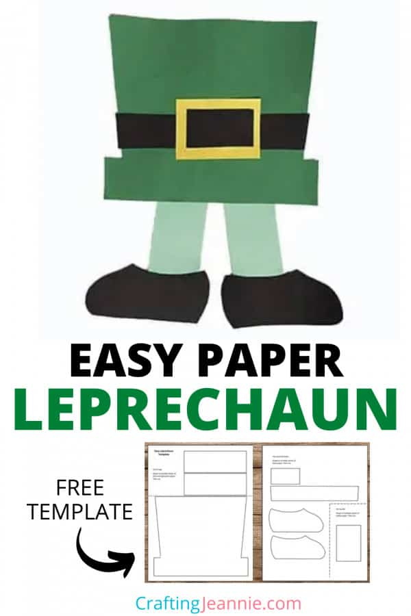 easy leprechaun craft picture for pinterest Crafting Jeannie