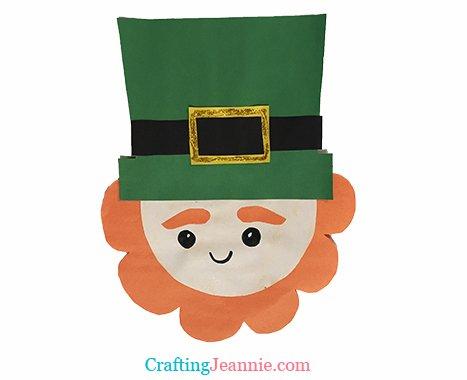 cute leprechaun craft by Crafting Jeannie