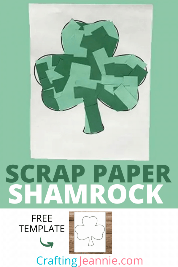 shamrock craft picture for pinterest Crafting Jeannie