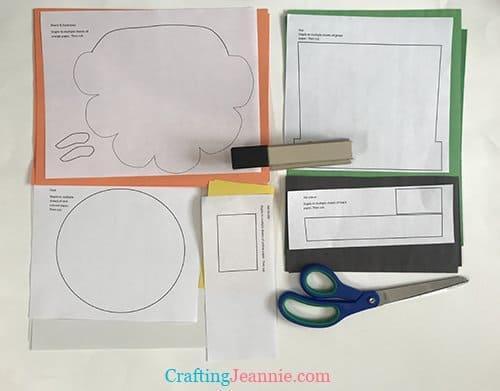 cute leprechaun templates ready to cut