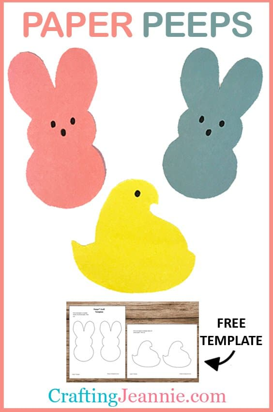 Peeps Craft Image Crafting Jeannie for pinterest