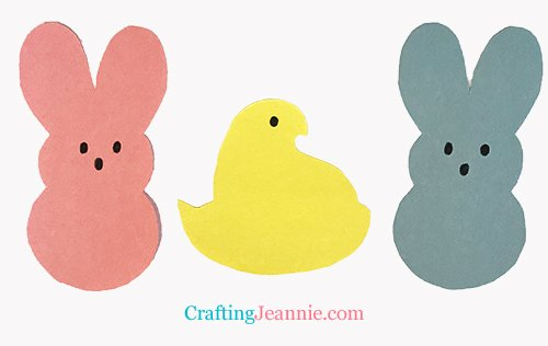 Paper Peeps craft by Crafting Jeannie