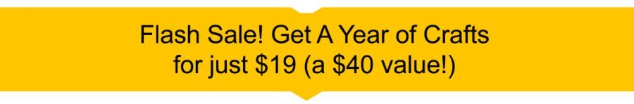 Flash Sale on A Year Of Crafts $19 by Crafting Jeannie