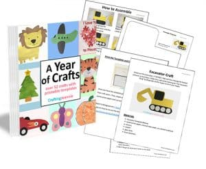 A year of crafts footer image CraftingJeannie