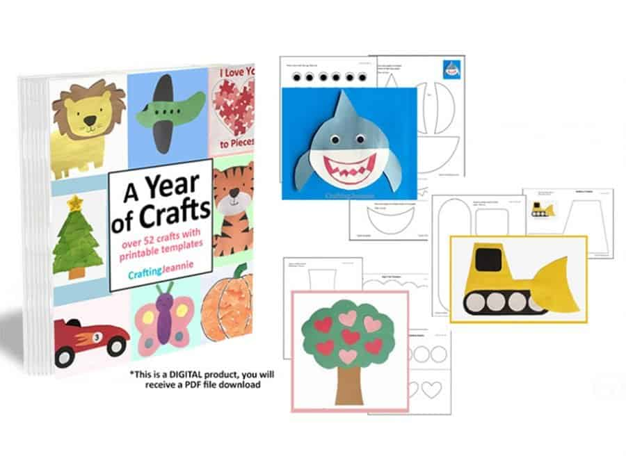 A Year Of Craft Printables by Crafting Jeannie