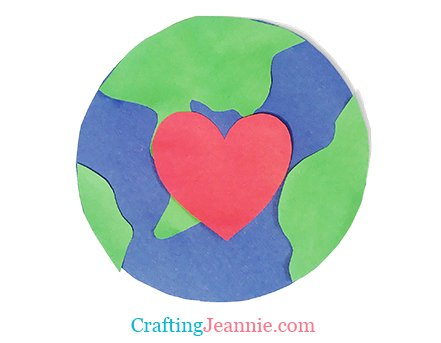 Earth Day Craft by Crafting Jeannie