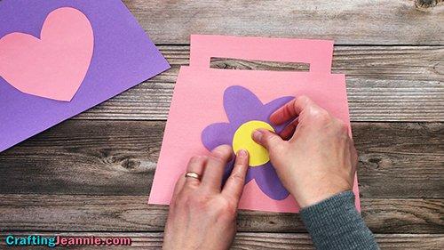 flower on Purse Craft