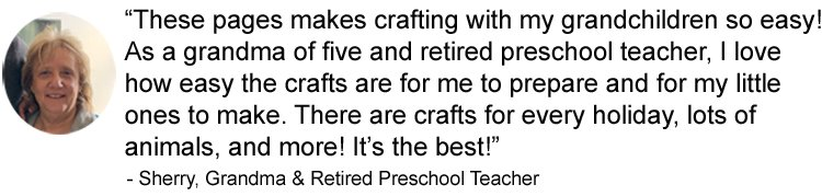 testimonial for A Year Of Crafts