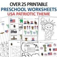 USA Printable Worksheets